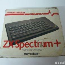 Videojuegos y Consolas: CAJA Y CORCHOS DEL SPECTRUM + INVESTRÓNICA / SINCLAIR ZX SPECTRUM 48K - 128K / CASSETTE / RETRO. Lote 172970524