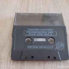 Videojuegos y Consolas: JUEGOS SPECTRUM. QUATTRO CARTOON. CODEMASTERS. 4 JUEGOS. Lote 173139593