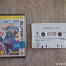 Videojuegos y Consolas: JUEGO SPECTRUM. SUPER CYCLE. EPIX / US GOLD / ERBE. Lote 173194698