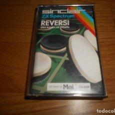 Videojuegos y Consolas: REVERSI. JUEGO PARA SPECTRUM ZX. Lote 173462509