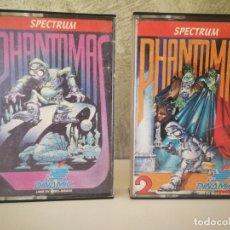 Videojuegos y Consolas: PHANTOMAS 1 Y 2 SPECTRUM. Lote 174042613