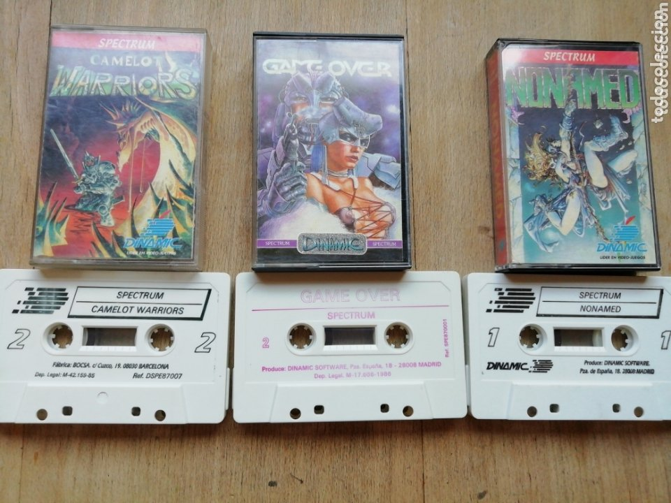 Videojuegos y Consolas: Spectrum lote Dinamic - Foto 2 - 174227222