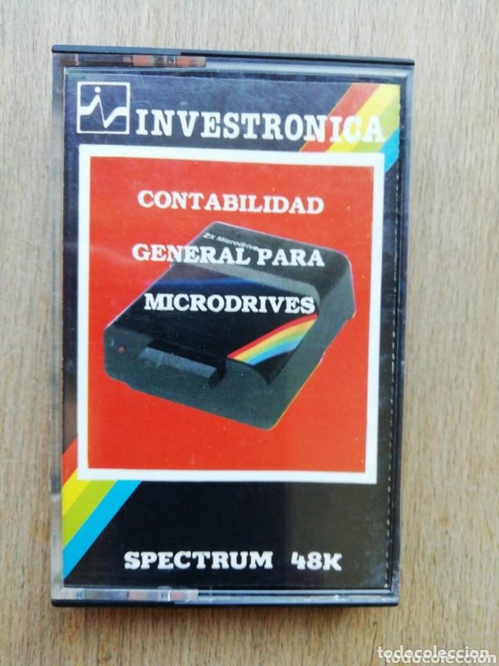 SPECTRUM CONTABILIDAD GENERAL INVESTRONICA (Juguetes - Videojuegos y Consolas - Spectrum)