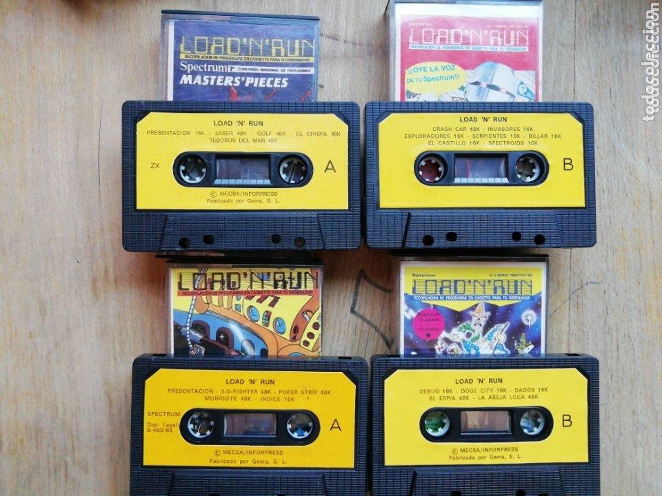 Videojuegos y Consolas: Lote Spectrum Load N Run - Foto 2 - 174230820