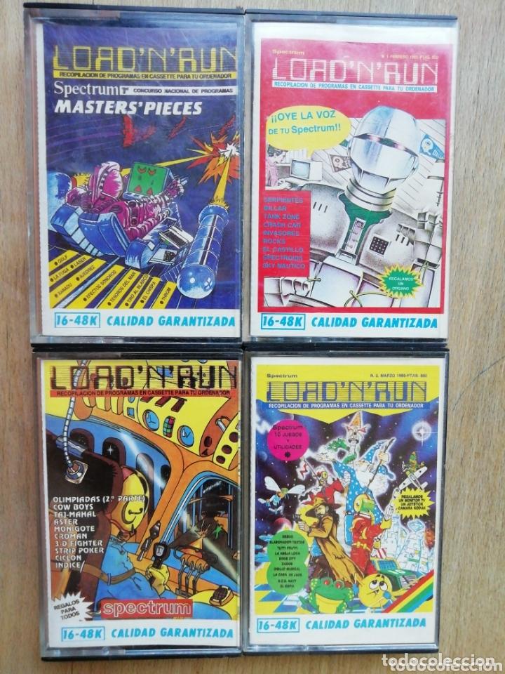 LOTE SPECTRUM LOAD N RUN (Juguetes - Videojuegos y Consolas - Spectrum)
