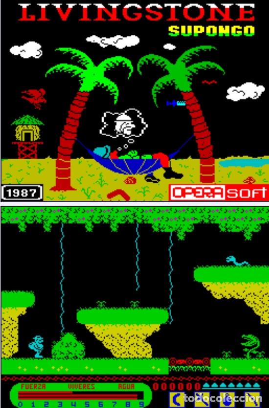 Videojuegos y Consolas: Monstruo Pack [Dinamic] [1987] [ZX Spectrum] Army Moves,Dustin,Livingstone Supongo,Highway Encounter - Foto 7 - 47026214
