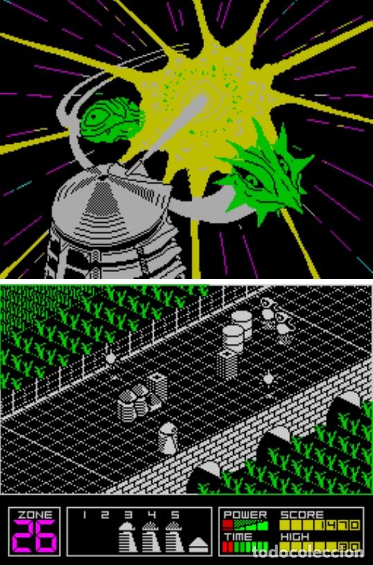Videojuegos y Consolas: Monstruo Pack [Dinamic] [1987] [ZX Spectrum] Army Moves,Dustin,Livingstone Supongo,Highway Encounter - Foto 8 - 47026214