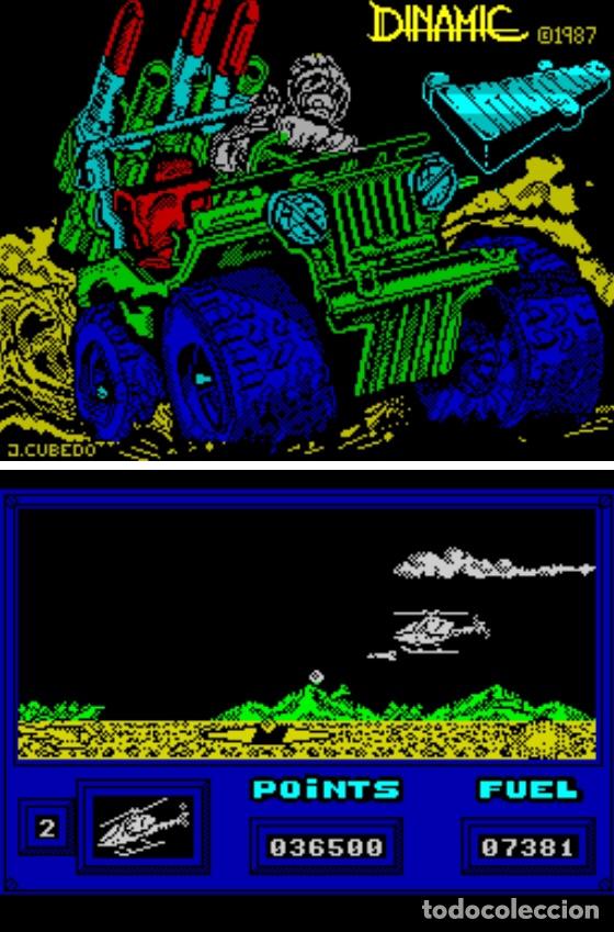 Videojuegos y Consolas: Monstruo Pack [Dinamic] [1987] [ZX Spectrum] Army Moves,Dustin,Livingstone Supongo,Highway Encounter - Foto 9 - 47026214