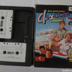Videojuegos y Consolas: 4 SOCCER - SPECTRUM. Lote 174983888