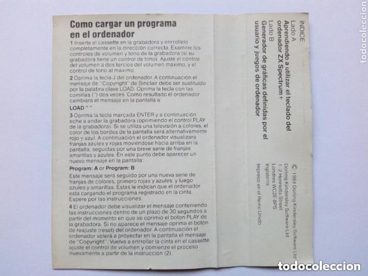 Videojuegos y Consolas: (1984) Sinclair ZX SPECTRUM + 48K (Cassette: Guía para el empleo - Cassette Complementario) Goldstar - Foto 3 - 287334673
