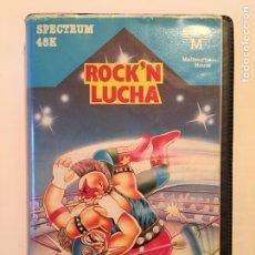 Videojuegos y Consolas: SPECTRUM 48K - ROCK'N LUCHA - ERBE 1986. Lote 176776783