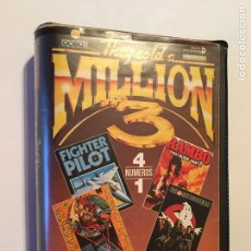 Videojuegos y Consolas: THEY SOLD A MILLION 3. 4 JUEGOS SPECTRUM - RAMBO - GHOSTBUSTERS - FIGHTER PILOT - KUNG FU MASTERS. Lote 176776948