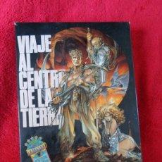 Videojogos e Consolas: VIAJE AL CENTRO DE LA TIERRA --- TOPO SOFT ---1989 --- ZX SPECTRUM ---. Lote 188865002
