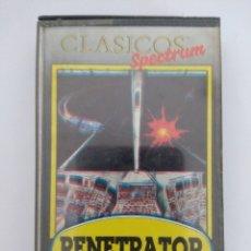Videojuegos y Consolas: JUEGO SPECTRUM/CLASICOS SPECTRUM PENETRATOR.. Lote 177182384