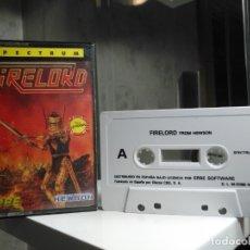 Videojuegos y Consolas: FIRELORD TESTEADO. Lote 177316049
