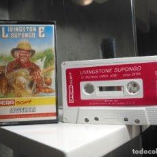 Videojuegos y Consolas: LIVINGSTONE SUPONGO TESTEADO. Lote 177317290