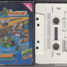 Videojuegos y Consolas: VIDEOJUEGO CASSETTE SPECTRUM HUMPHREY 1988 ZIGURAT. Lote 177318442