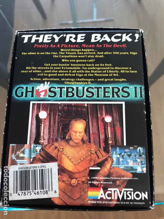 Videojuegos y Consolas: Ghostbusters II - Spectrum - Cinta - Foto 2 - 177729624