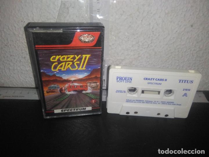 JUEGO CRAZY CARS 2 SPECTRUM (Juguetes - Videojuegos y Consolas - Spectrum)
