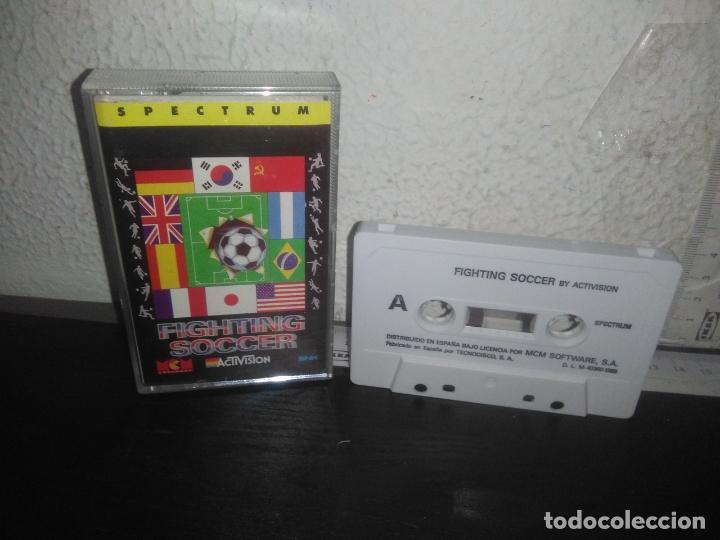 JUEGO FIGHTING SOCCER SPECTRUM (Juguetes - Videojuegos y Consolas - Spectrum)