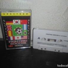 Videojuegos y Consolas: JUEGO FIGHTING SOCCER SPECTRUM. Lote 178076480