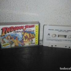 Videojuegos y Consolas: JUEGO INDIANA JONES EN EL TEMPLO MALDITO SPECTRUM. Lote 178076548