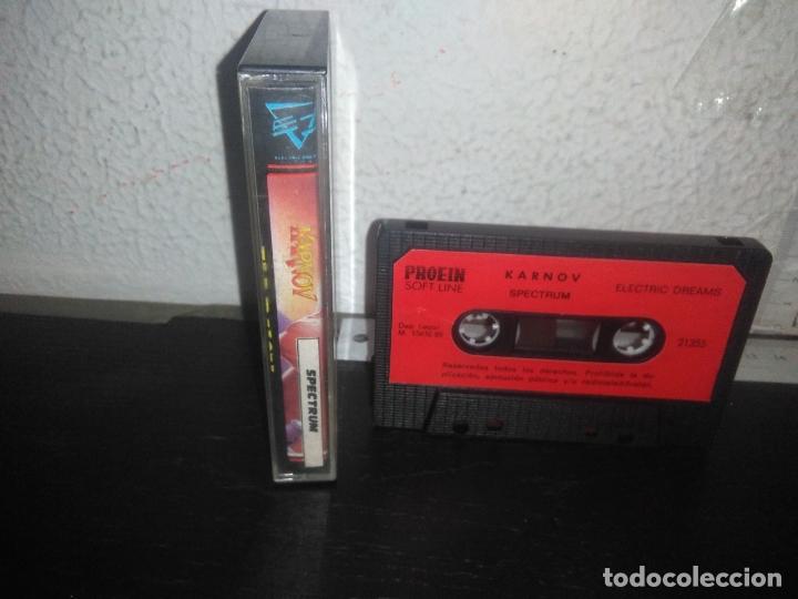 Videojuegos y Consolas: Juego KARNOV version española spectrum - Foto 2 - 178076693