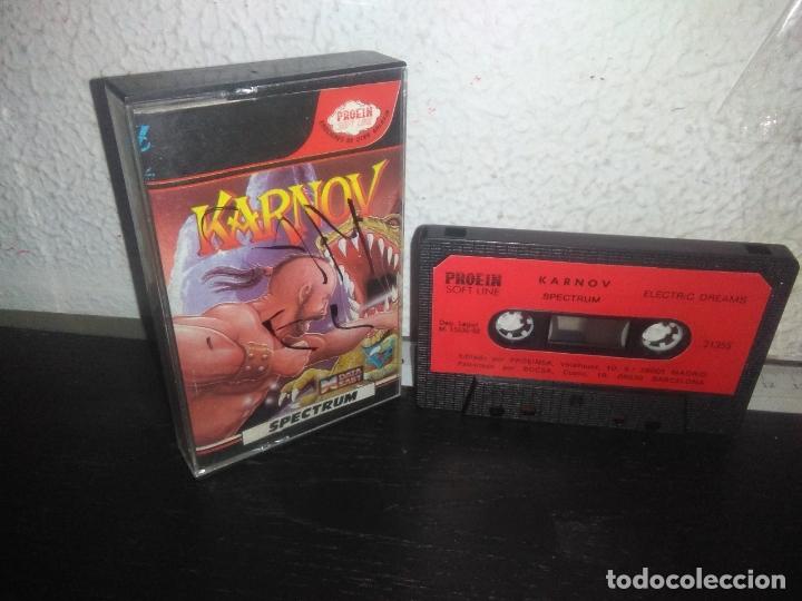 JUEGO KARNOV VERSION ESPAÑOLA SPECTRUM (Juguetes - Videojuegos y Consolas - Spectrum)