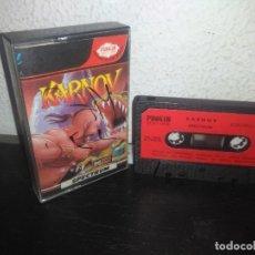 Videojuegos y Consolas: JUEGO KARNOV VERSION ESPAÑOLA SPECTRUM. Lote 178076693