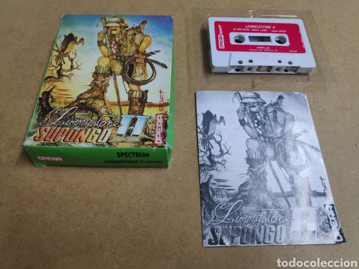 LIVINGSTONE SUPONGO II PARA SPECTRUM [OPERA SOFT] 1987 (Juguetes - Videojuegos y Consolas - Spectrum)