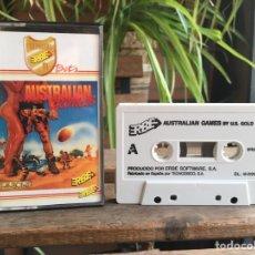 Videojuegos y Consolas: SPECTRUM AUSTRALIAN GAMES. ERBE. MUY RARO.. Lote 178623995