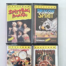 Videojuegos y Consolas: SPECTRUM- SPITTING IMAGE - DRAGON SPIRIT - HYSTERIA - STREET SPORTS BASKETBALL - ERBE. Lote 178935150
