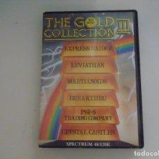 Videojuegos y Consolas: JUEGOS SPECTRUM PACK. THE GOLD COLLECTION III. 6 JUEGOS US GOLD / VARIOS.. Lote 179005842