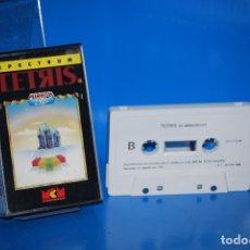 Videojuegos y Consolas: JUEGO SPECTRUM-TETRIS. MIRRORSOFT -SINCLAIR ZX SPECTRUM - CASSETTE-BUEN ESTADO. Lote 179179372