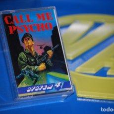 Videojuegos y Consolas: JUEGO SPECTRUM-CALL ME PSYCHO -SPECTRUM - CASSETTE-BUEN ESTADO. Lote 179185280