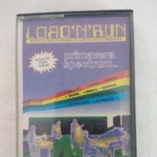 Videojuegos y Consolas: CASETE SPECTRUM/LOAD N' RUN.. Lote 179522743