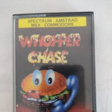 Videojuegos y Consolas: CASETE SPECTRUM/WHOPPER CHASE/ERBE SOFWARE-BURGER KING. Lote 179523017