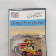 Videojuegos y Consolas: CASETE SPECTRUM/GRAND PRIX DRIVER/BRITANNIA SOFWARE.. Lote 179523162