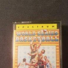 Videojuegos y Consolas: WORLD SERIES BASKETBALL..SPECTRUM. Lote 179535401