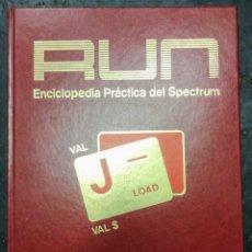 Videojuegos y Consolas: RUN.ENCICLOPEDIA PRÁCTICA DEL SPECTRUM.4 TOMOS COMPLETA COMO NUEVA SI TE INTERESA TENGO ACCESORIOS.. Lote 179953365