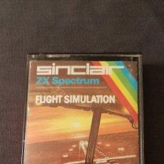 Videojuegos y Consolas: FLIGHT SIMULATION . SPECTRUM. Lote 180024973