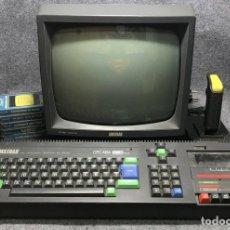 Videojuegos y Consolas: ORDENADOR AMSTRAD CPC 464+MONITOR GT65+JOYSTICK+6 CINTAS. Lote 180046486