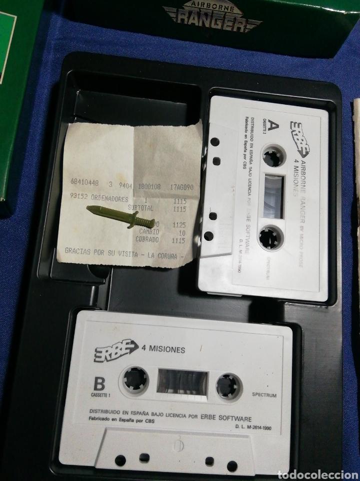 Videojuegos y Consolas: AIRBORNE RANGER. ERBE. MICRO PROSE. SPECTRUM AÑOS 80. - Foto 2 - 180198236