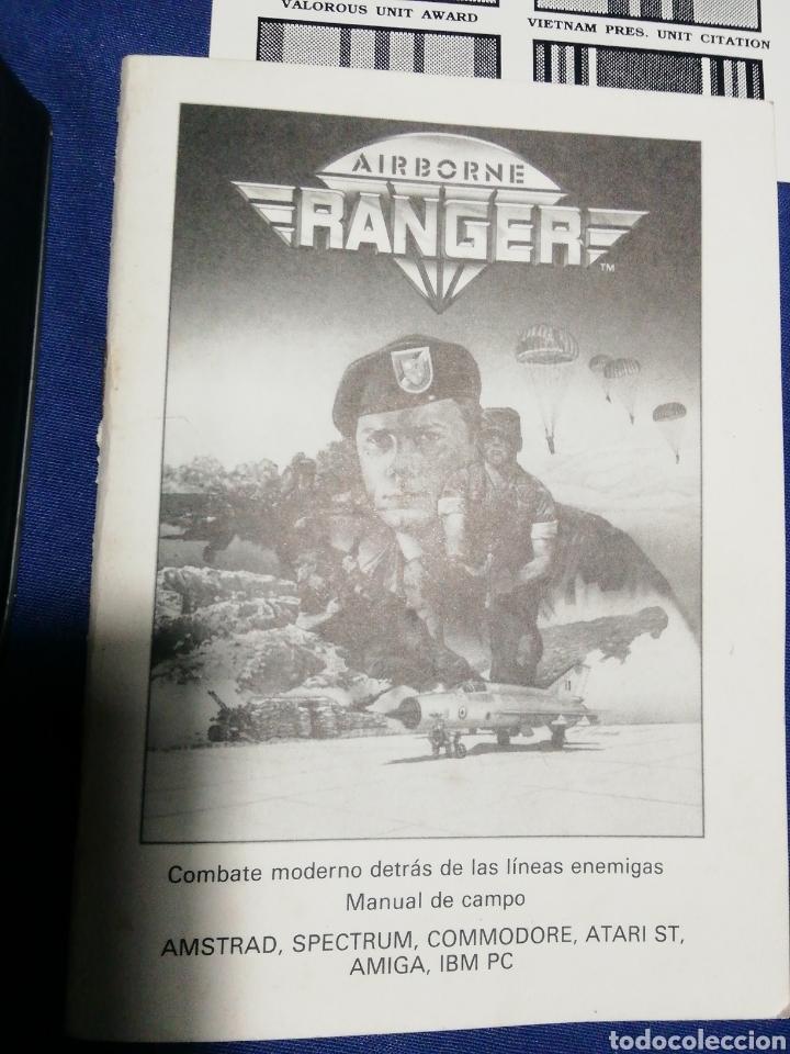 Videojuegos y Consolas: AIRBORNE RANGER. ERBE. MICRO PROSE. SPECTRUM AÑOS 80. - Foto 5 - 180198236