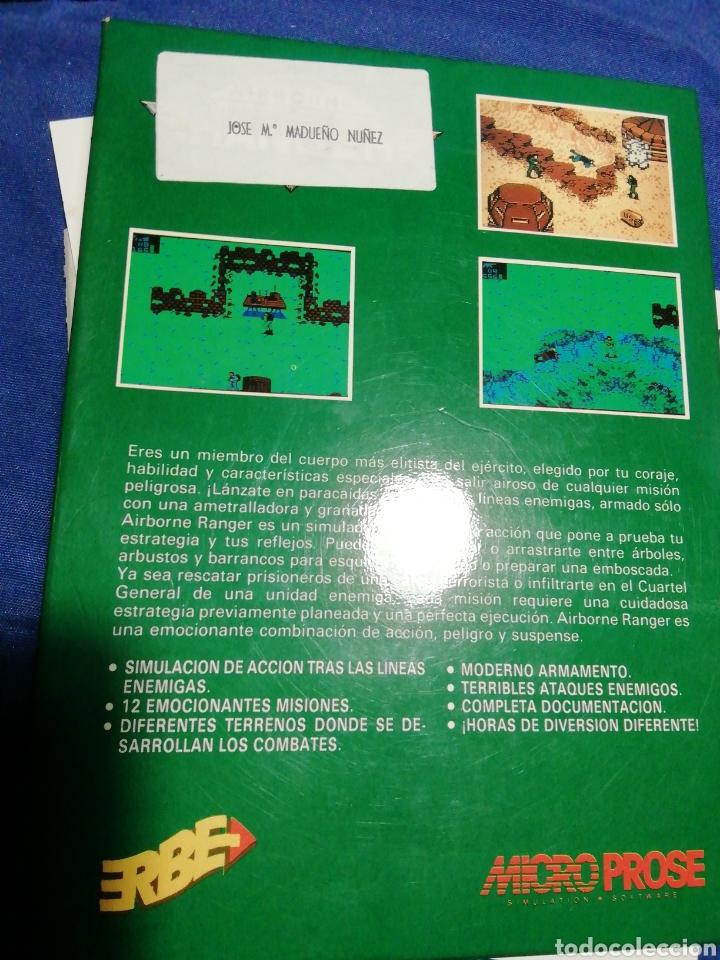 Videojuegos y Consolas: AIRBORNE RANGER. ERBE. MICRO PROSE. SPECTRUM AÑOS 80. - Foto 8 - 180198236