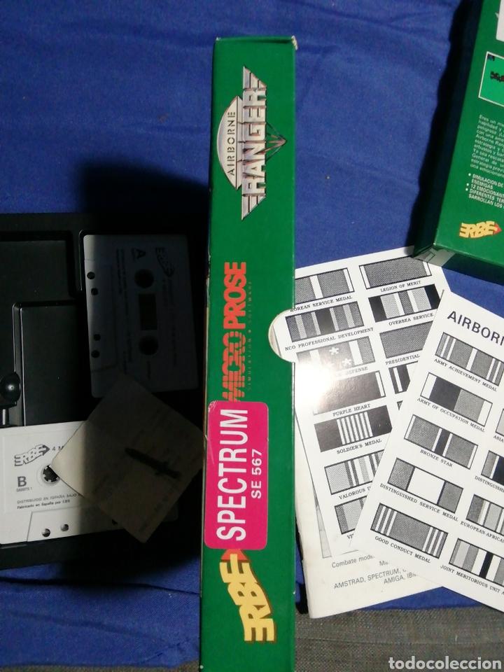 Videojuegos y Consolas: AIRBORNE RANGER. ERBE. MICRO PROSE. SPECTRUM AÑOS 80. - Foto 11 - 180198236