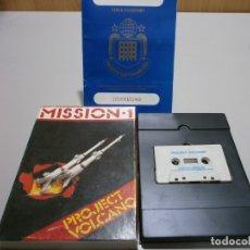 Videojuegos y Consolas: JUEGO SPECTRUM 48 MISSION 1 PROJECT VOLCANO CAJA GRANDE DE CARTON RARO BUEN ESTADO. Lote 180484563