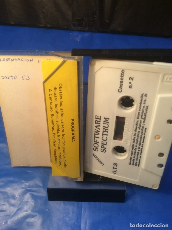 Videojuegos y Consolas: 3 !!!! CINTAS SPECTRUM ¡¡ LES FLICS - OTHELLO - SOFTWARE Nº 2 - ¡¡ (VER FOTOS) - Foto 10 - 181511107