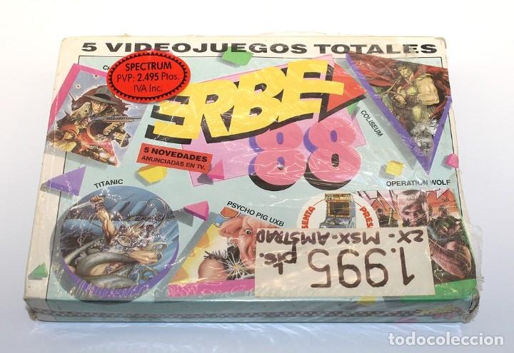 ERBE 88 - PACK DE 5 JUEGOS - NUEVO Y PRECINTADO - SPECTRUM - CASSETTE (Juguetes - Videojuegos y Consolas - Spectrum)