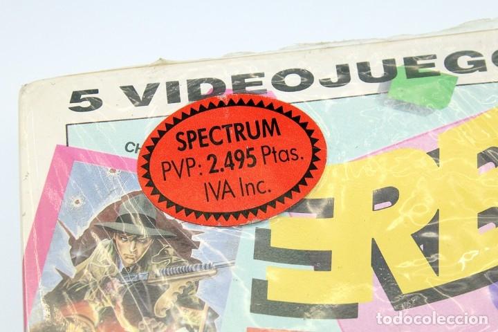Videojuegos y Consolas: ERBE 88 - PACK DE 5 JUEGOS - NUEVO Y PRECINTADO - SPECTRUM - CASSETTE - Foto 3 - 182011593